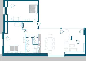 Grundriss Wohnung 09
